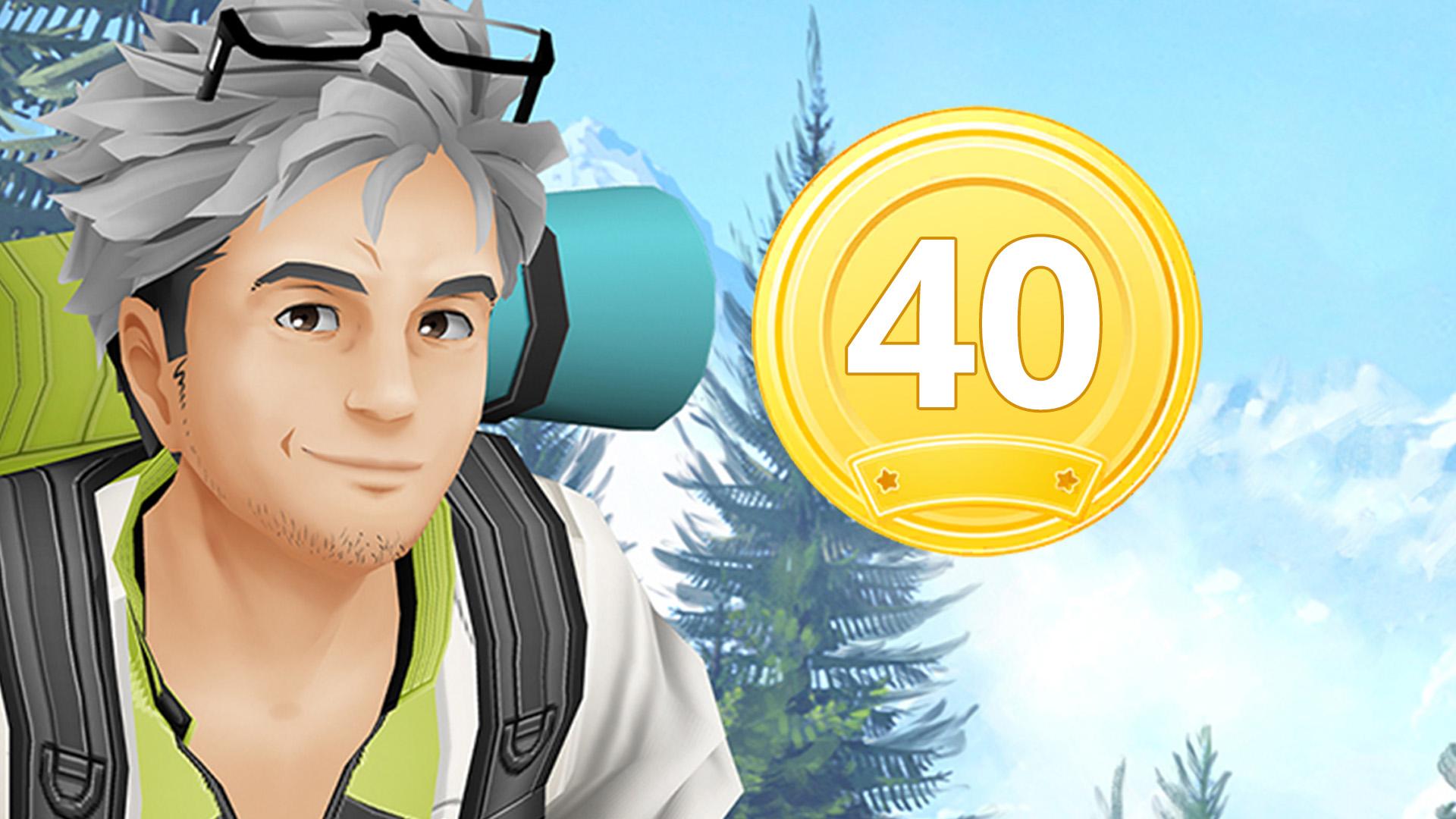 Medalla Pokémon GO Willow 40