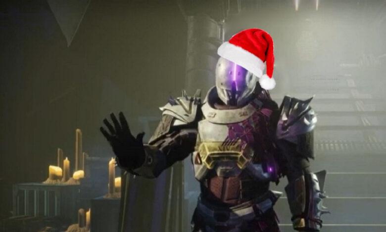 Justo a tiempo para Navidad, Destiny 2 regala la mejor arma de prueba