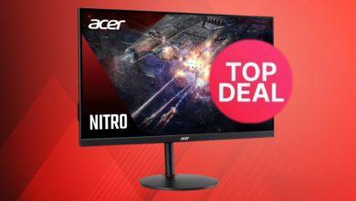 Monitor de juegos Acer económico con 165 Hz y HDR al mejor precio en eBay