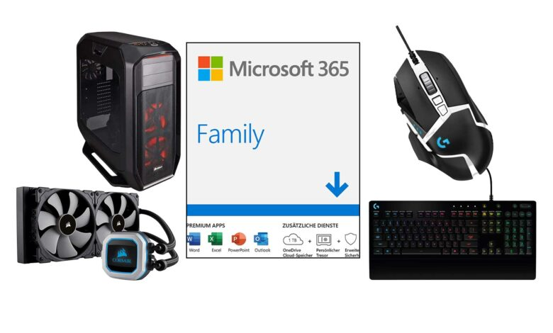 Ofertas de Amazon: 1 año de Office 365 y hardware de PC para juegos más barato
