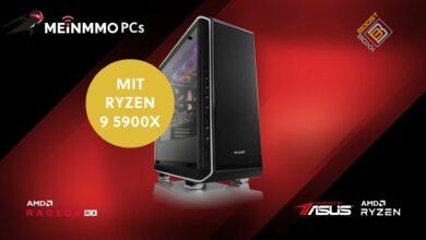 PC para juegos con rendimiento bruto y CPU Ryzen 9 ahora disponible