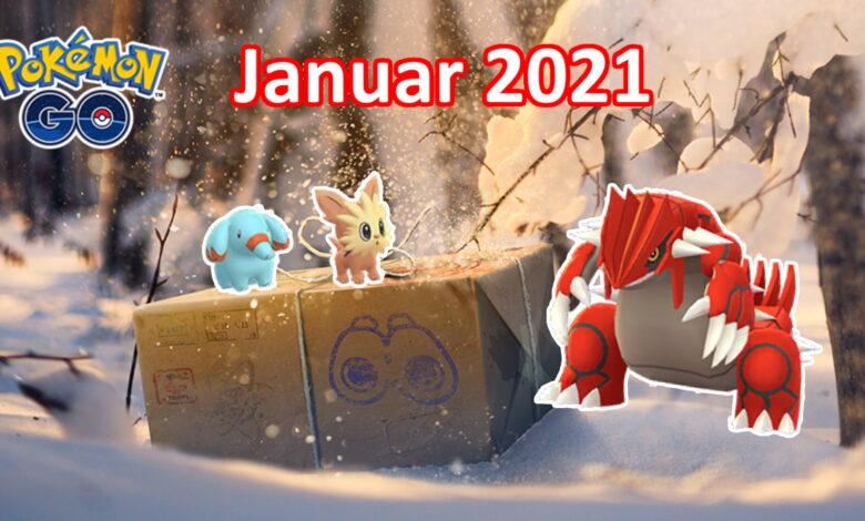 Pokémon GO: Eventos de enero: 4 horas de atención y 6 jefes de incursión