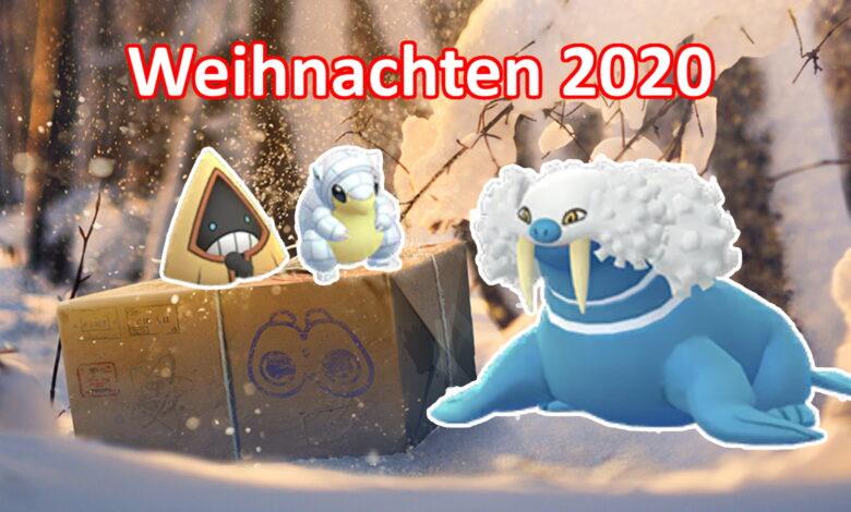 Pokémon GO: todas las misiones, brillos y jefes de banda para el evento navideño 2020