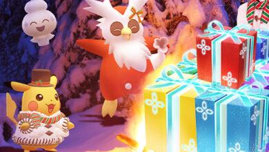 Pokémon GO trae un nuevo Pokémon y estas bonificaciones para la Navidad de 2020