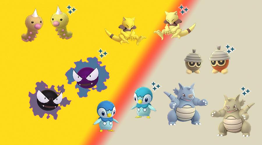 Brillos de diciembre del Día de la Comunidad Pokémon GO