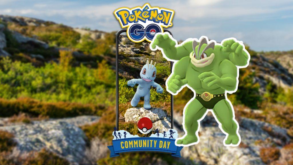 Día de la comunidad Machollo Pokemon GO