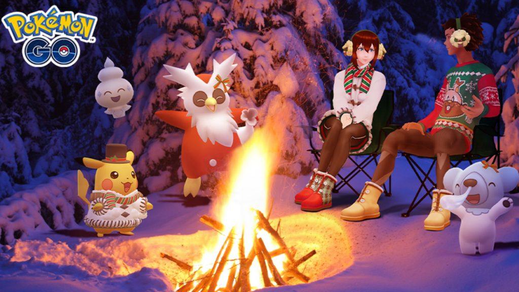 Evento navideño Pokémon GO 2020