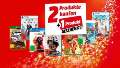 Promoción 3 por 2 con juegos para PC, PS5 y compañía solo por un corto tiempo en MediaMarkt