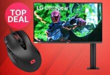 Ratón para juegos y monitor de juegos LG baratos al mejor precio en Amazon