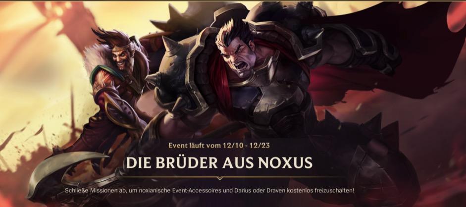 Evento Darius Draven