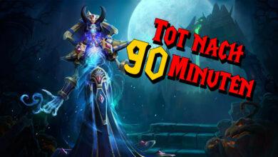 "WoW Classic: Uff: la última incursión ""Naxxramas"" se completa después de 90 minutos"