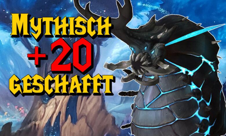 WoW: El primer grupo gestiona Mythisch + 20 a tiempo, ni siquiera era escaso