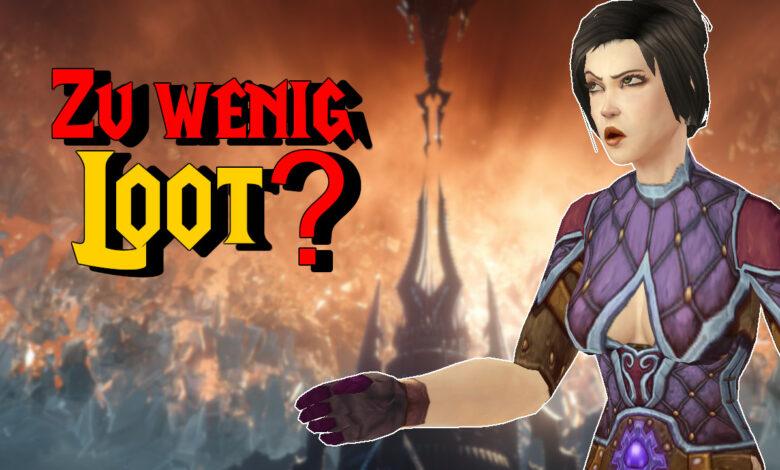 WoW: Los jugadores exigen más botín en Shadowlands - ¿Hay muy poco?
