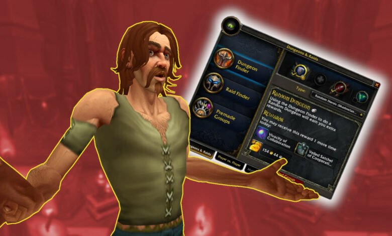 WoW Shadowlands: los jugadores ya no pueden ingresar a las mazmorras - problemas y soluciones