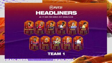 FIFA 21: HeadLiners - Se anuncia el primer equipo de protagonistas