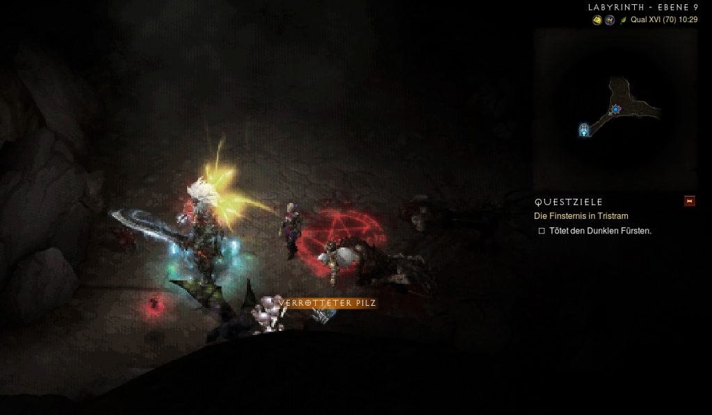 Hongo podrido de Diablo 3