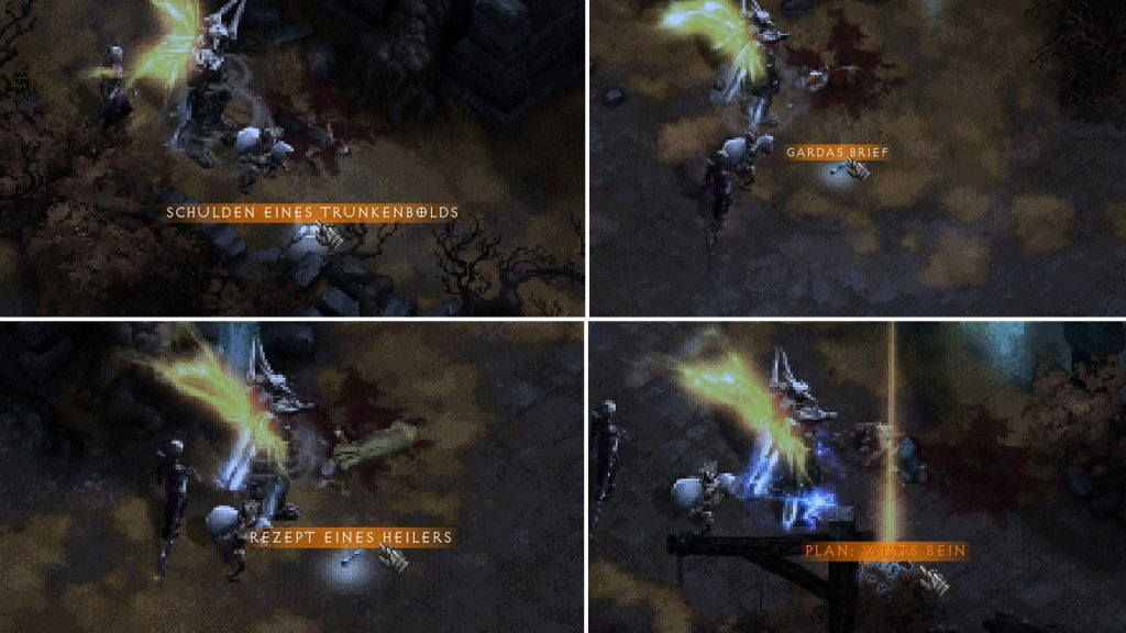 Diablo 3 recetas de cadáveres