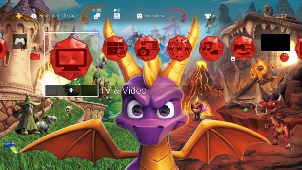 Spyro Reignited Trilogy - Tema de regreso ardiente