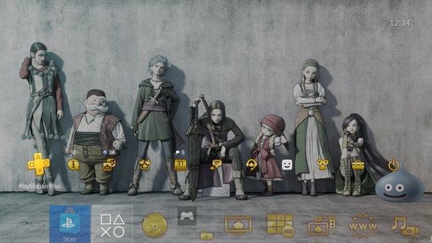 Tema de fiesta de Dragon Quest XI