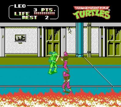 Teenage Mutant Ninja Turtles 2: El juego de arcade
