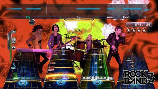 Grupo de rock 3