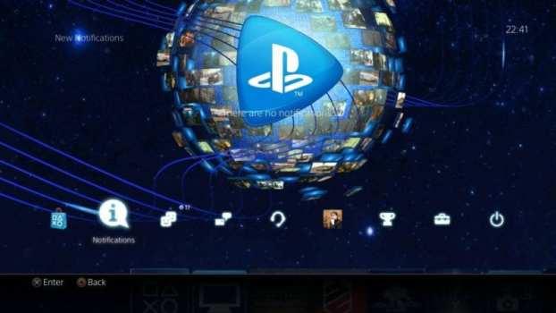 Tema dinámico de PlayStation Now