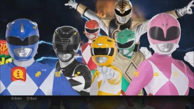 Tema dinámico de Mighty Morphin Power Rangers