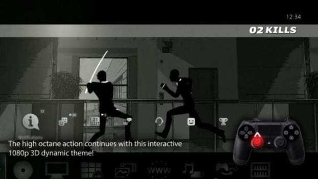 Tema dinámico interactivo 3D Retaliation Rampage