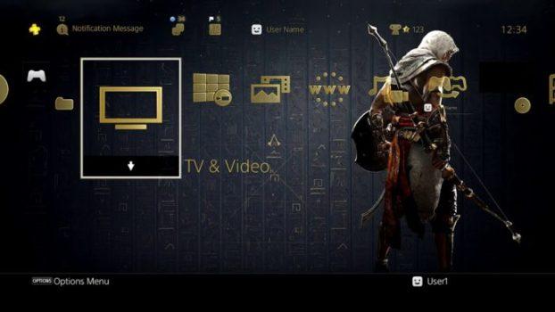 Tema dinámico de Assassin & # 39; s Creed Origins