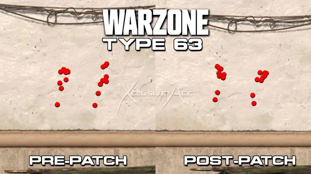 armas de zona de guerra de bacalao tipo 63 nerf retroceso