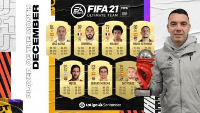 FIFA 21: Iago Aspas POTM diciembre de LaLiga - Requisitos y Soluciones