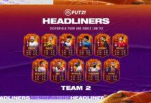 FIFA 21: HeadLiners - Se anuncia el segundo equipo de protagonistas