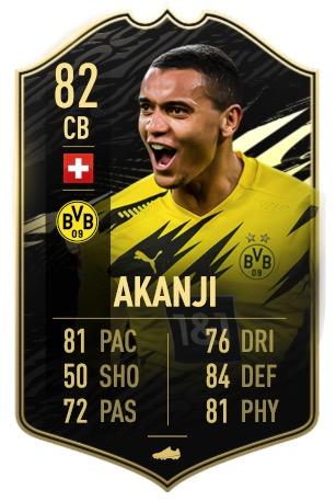 FIFA 21 Akanji