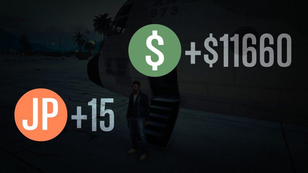 Misión de GTA 5 exitosa
