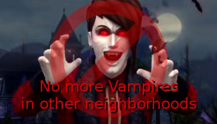 mejores mods sims 4 vampiros, sims 4 vampiros, sims 4 vampiros mods, mods, sims 4, vampiros