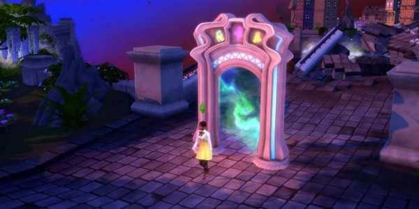 sims 4, reino de la magia