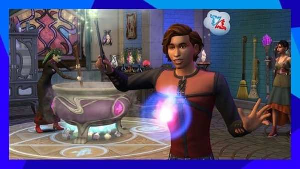 los sims 4: reino de la magia