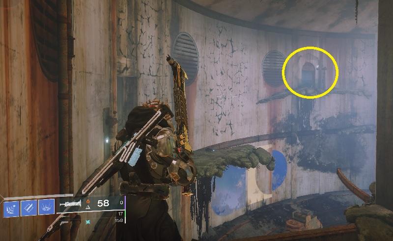 Depósito de la puerta escondido Destiny 2