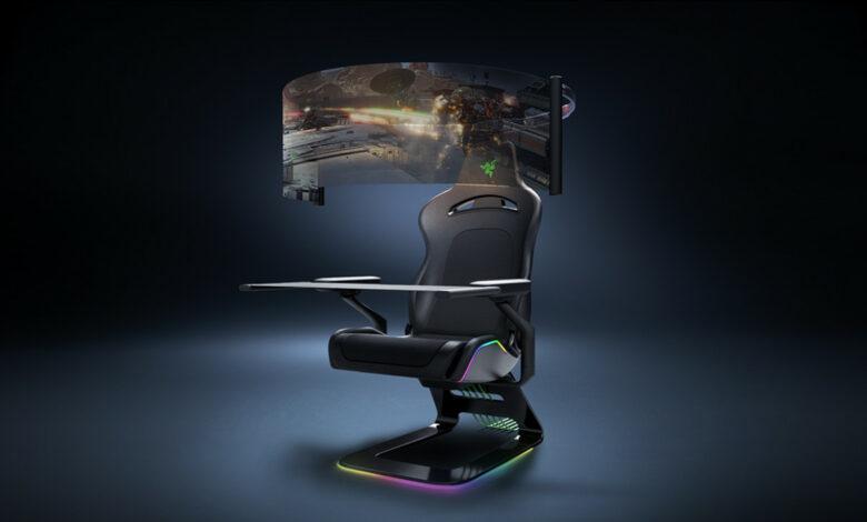 Razer muestra una innovadora silla para juegos en la que seguramente querrá sentarse
