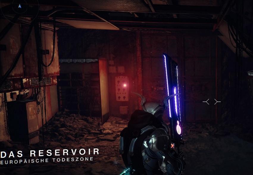 Pasaje secreto de la puerta del depósito ETZ Destiny 2