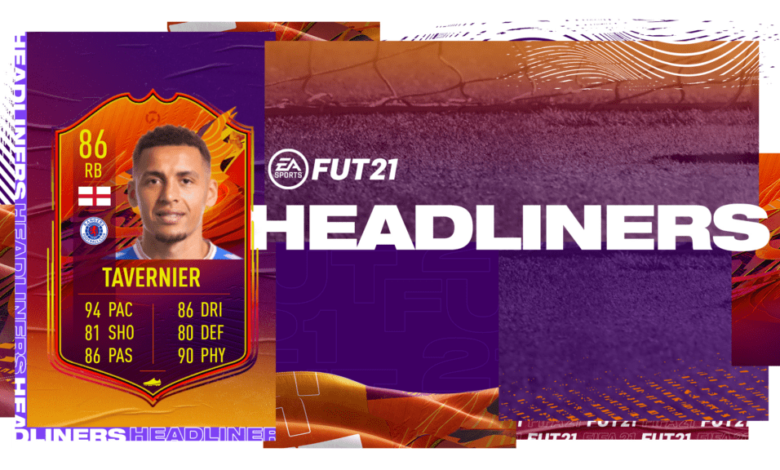 FIFA 21: SBC James Tavernier HeadLiners - Requisitos y soluciones