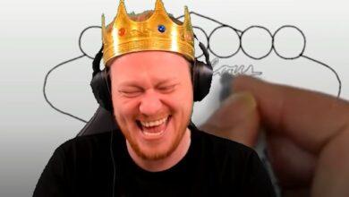 El streamer de Twitch de repente quiere ser un modelo a seguir, termina las transmisiones de juegos de azar