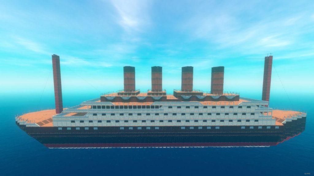 concurso de construcción de balsa titanic
