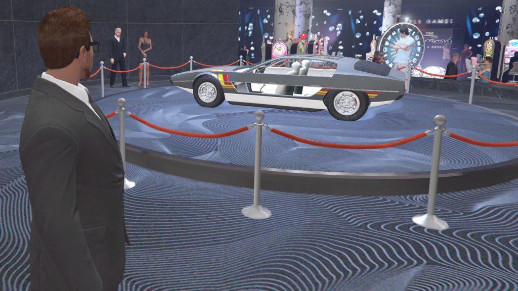 Podio de GTA Online Casino Toreador