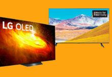 Actualmente puede ahorrar en 5 buenos televisores de Samsung y LG