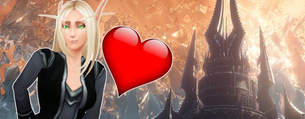 WoW Torghast Love Blood Elf título título 1140x445