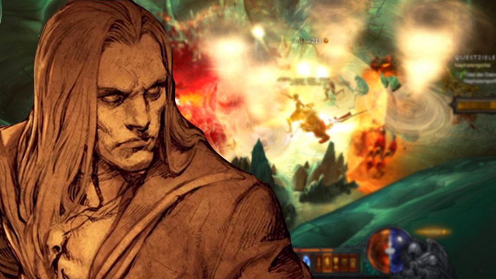 Jugabilidad del título de Diablo 3 Necromancer