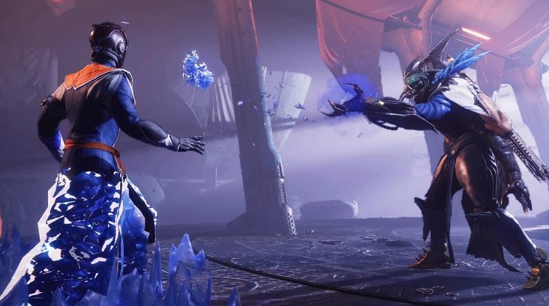 Eramis Stasis Keeper Frozen Destiny 2