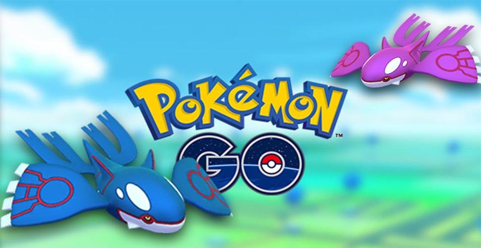 Pokémon GO Kyogre Título 1
