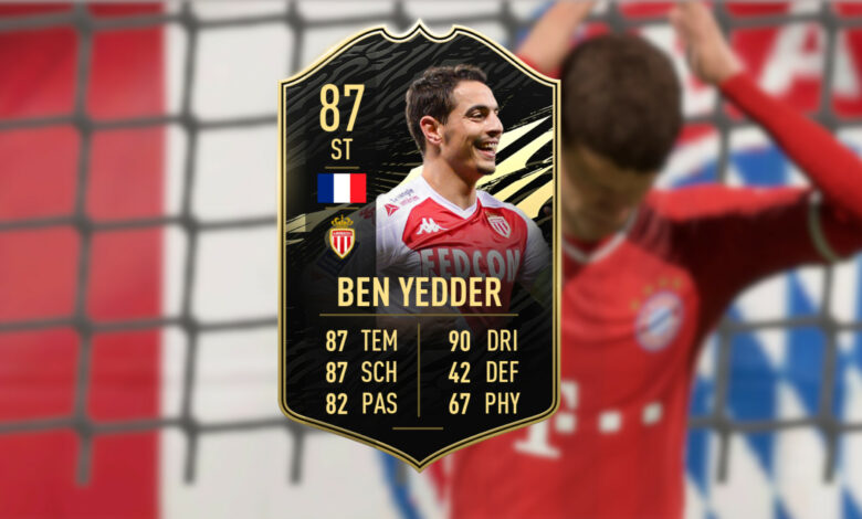 FIFA 21: TOTW 17 trae a Ben Yedder, la pesadilla de todos los jugadores